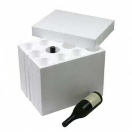 Polystyrene Wine Box Insert  sc 1 st  The Packing and Moving Company & Polystyrene Wine Box Insert I Holds 12 Bottles I The Packing and ...