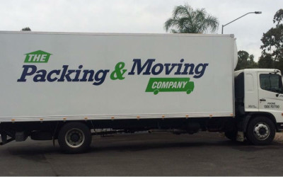 New Signage on One of Our Furniture Removalist Truck