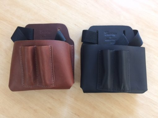 Black and Brown Packing Pouches