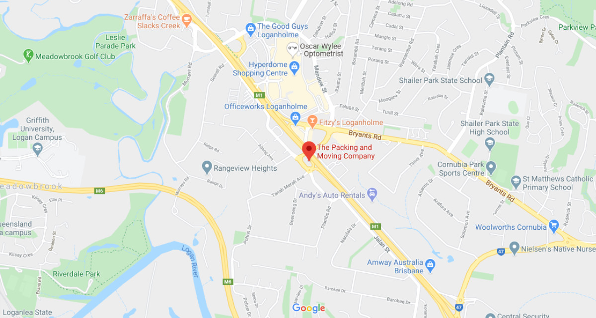 The Packing and Moving Company - Google Map